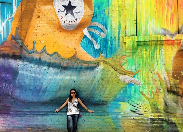 Santiago mural